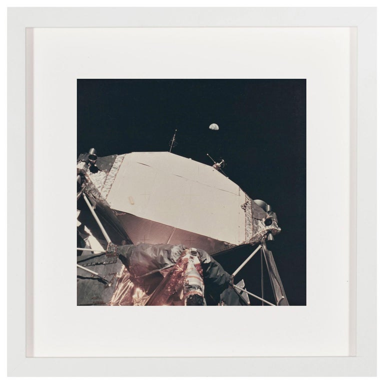 Vintage NASA Photograph of the Apollo 11 Moon Landing For Sale