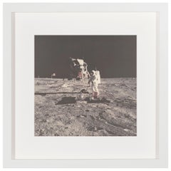 Vintage NASA Photograph of the Apollo 11 Moon Landing