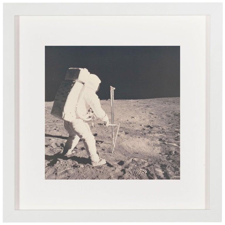 Vintage NASA Photograph of the Apollo 11 Moon Landing For Sale