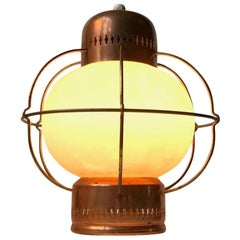 Vintage Nautical Pendant Lamp from Lyfa, 1960s