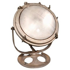 Vintage Nautical Search Light by Crouse Hinds