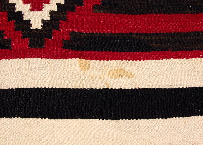 19th Century Vintage Navajo Chief's Blanket, Third Phase Pattern, circa 1900 For Sale