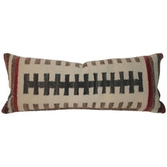 Vintage Navajo Indian Weaving Bolster Pillow