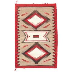 Vintage Navajo Kilim, circa 1950