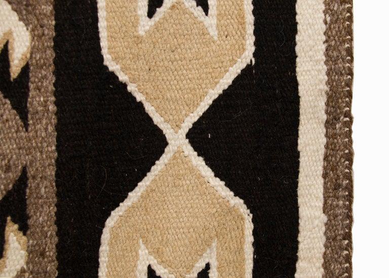 American Vintage Navajo Red Mesa Area Rug (Runner), Wool, Mid-20th Century For Sale