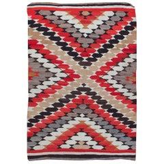 Vintage Navajo Rug, circa 1920, 4'11 x 7'3