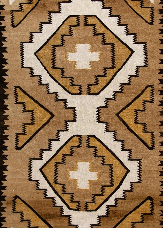 American Vintage Navajo Rug, Crystal Trading Post, circa 1930s-1950s For Sale