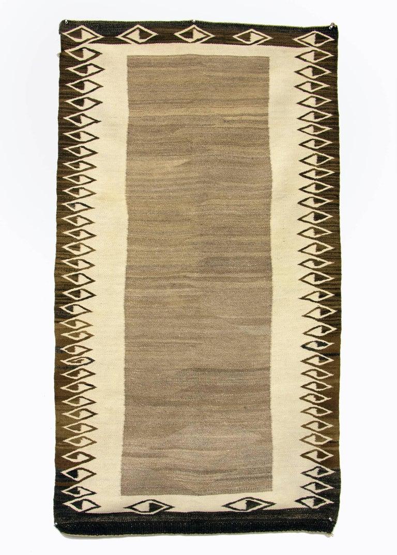 Native American Vintage Navajo Rug/Double Saddle Blanket, circa 1900 For Sale