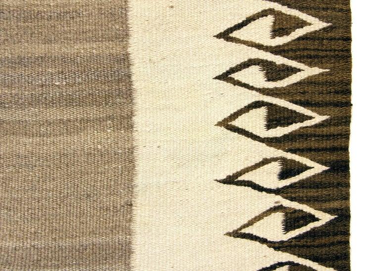 American Vintage Navajo Rug/Double Saddle Blanket, circa 1900 For Sale