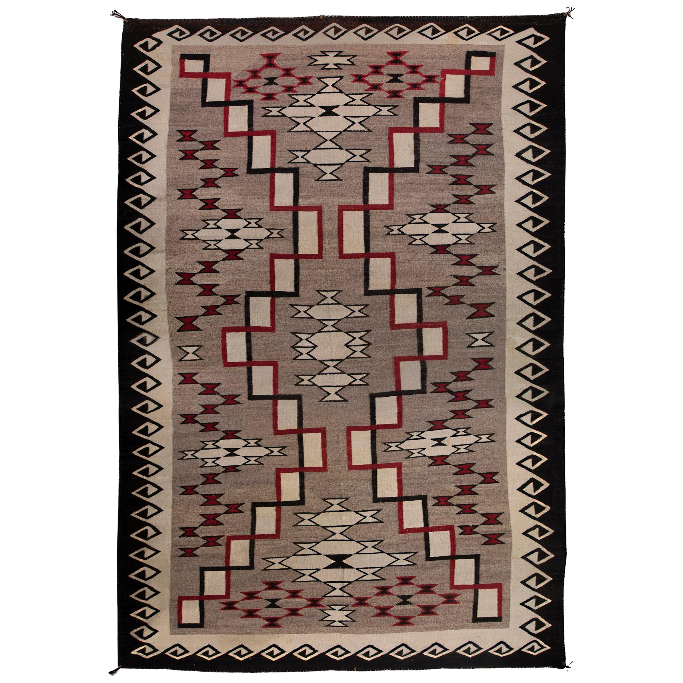 Navajo rug designs for kids Recognize Indigenous Vintage Navajo Rug Ganado Trading Post Early 20th Century For Sale 1stdibs Vintage Navajo Rug Ganado Trading Post Early 20th Century For Sale