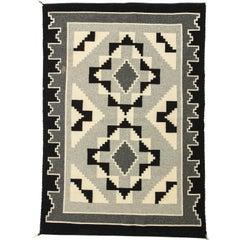 Vintage Navajo Woven Carpet/Saddle Blanket