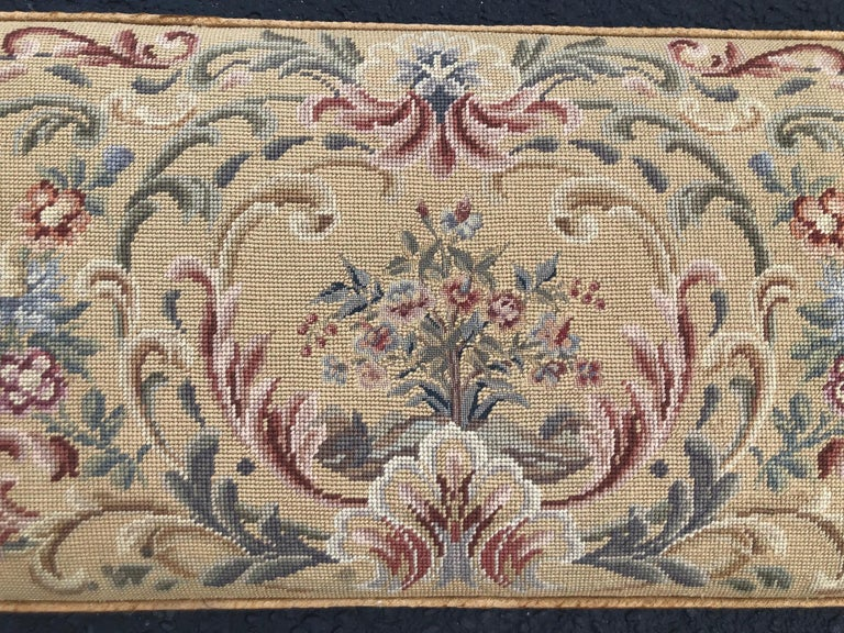 Vintage Needlepoint Upholstery Wall Hanging  For Sale 1