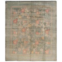 Vintage Nepalese Floral Rug