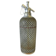Vintage New York and Czech Seltzer Soda Water Bottle