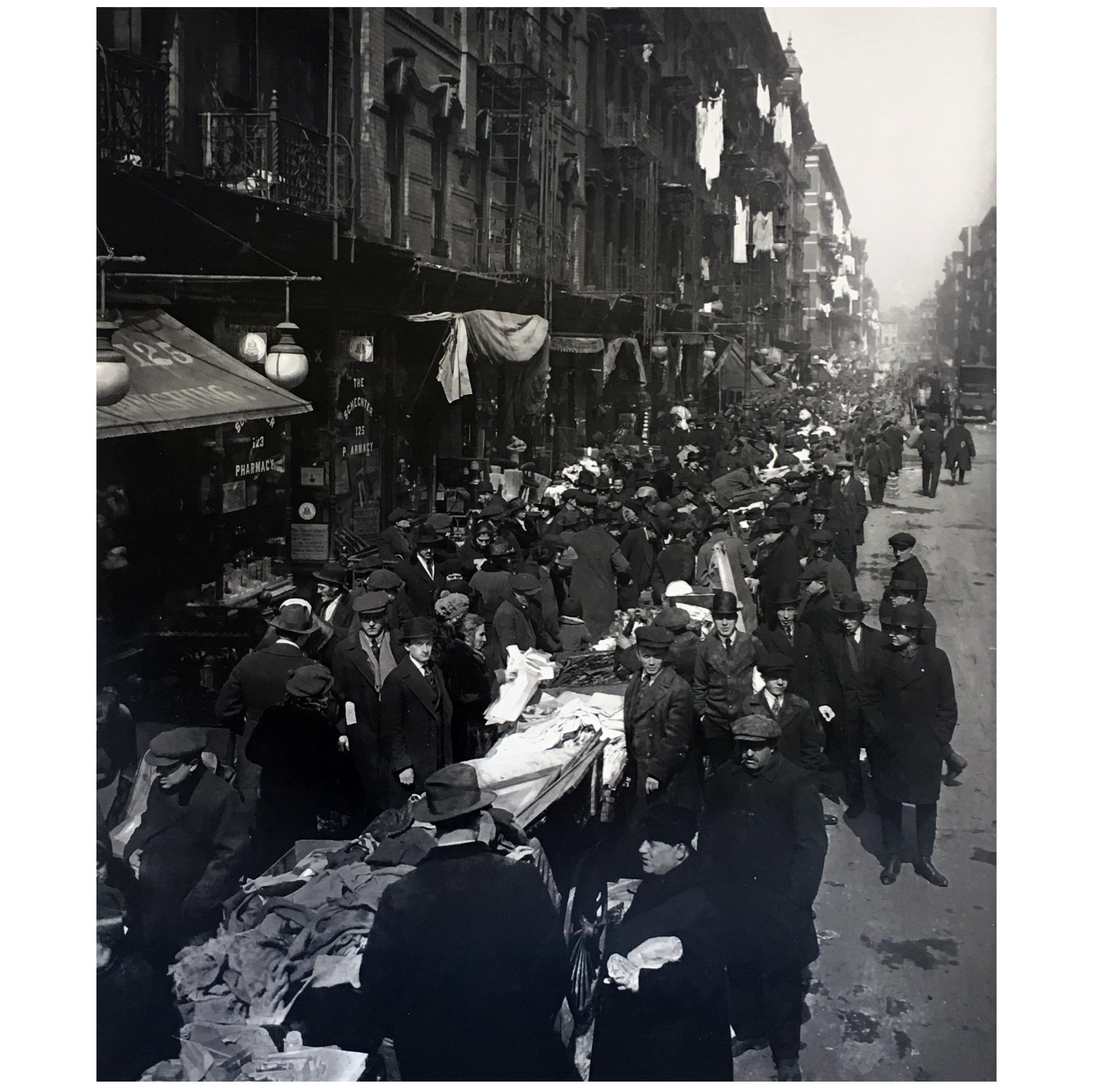 Vintage New York Lower East Side Photograph