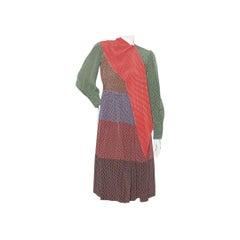 Vintage Norman Norell Polka-Dot Dress