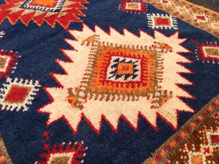 Vintage North African Berber Tribal Rug Ait Khozema For Sale 2
