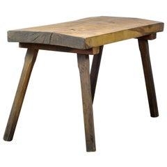 Vintage Oak Butcher's Table/Farm Table, 1960s