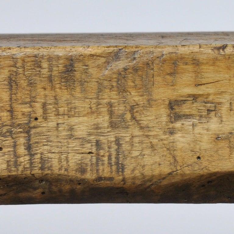 Vintage Oak Butcher's Table/Farmtable, 1920s For Sale 5