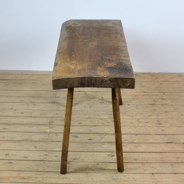 Vintage Oak Butcher's Table/Farmtable, 1920s In Good Condition For Sale In Amsterdam, Noord Holland