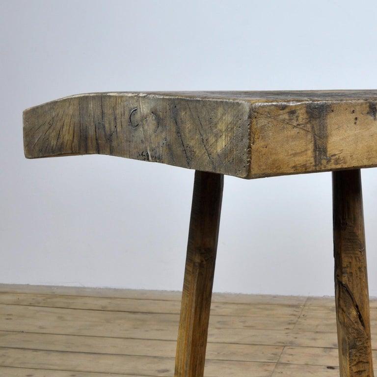 Vintage Oak Butcher's Table/Farmtable, 1920s For Sale 3