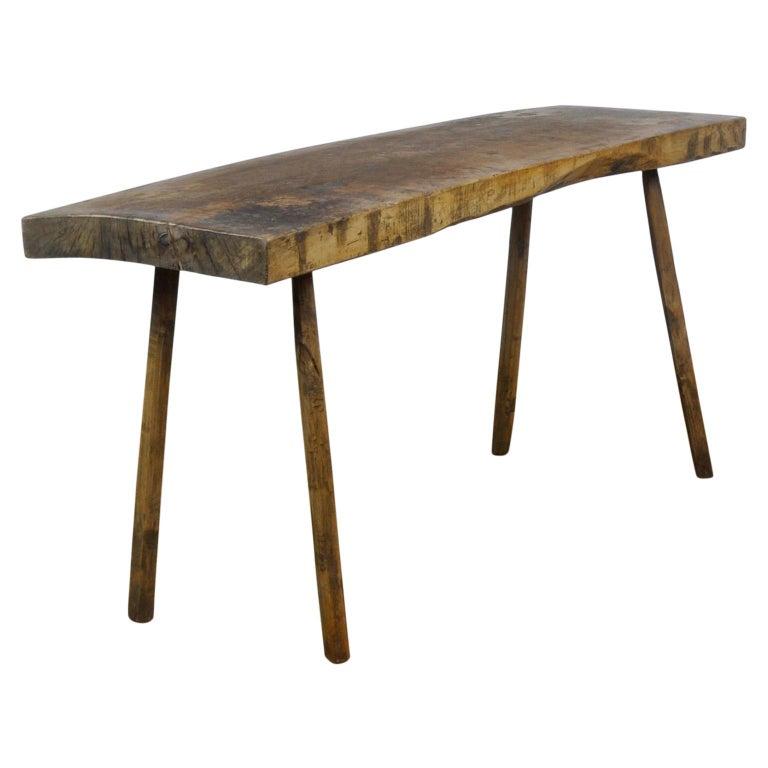 Vintage Oak Butcher's Table/Farmtable, 1920s For Sale