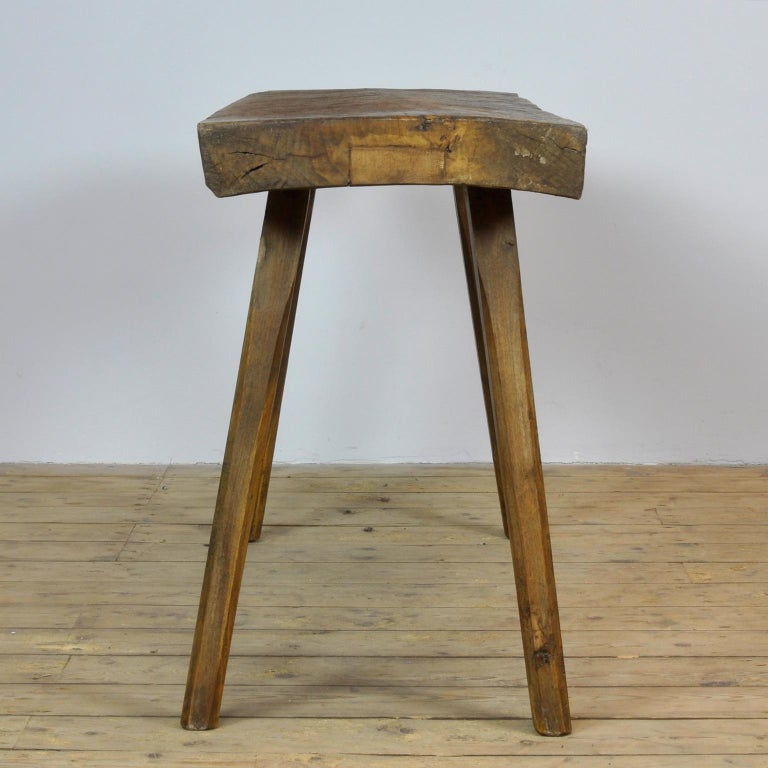 Vintage Oak Butcher's Table or Farmtable, 1930s For Sale 6