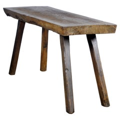 Vintage Oak Butcher's Table/Farmtable, 1930s