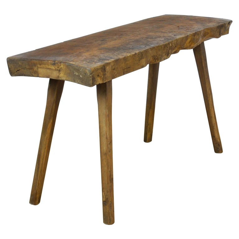 Vintage Oak Butcher's Table or Farmtable, 1930s For Sale