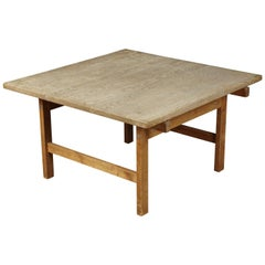 Vintage Oak Coffee Table Designed by Hans Wegner, Denmark, circa 1970