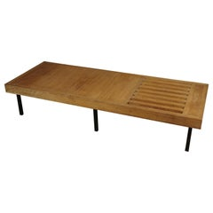 Vintage Oak Coffee Table from France, 1960s