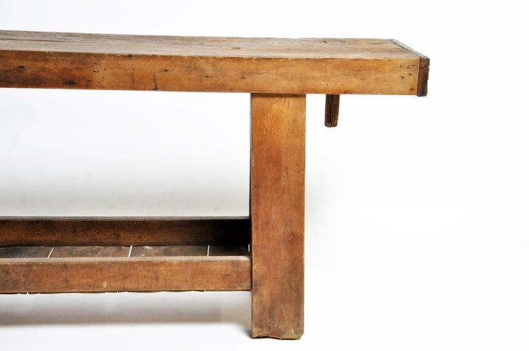 French Vintage Work Bench For Sale