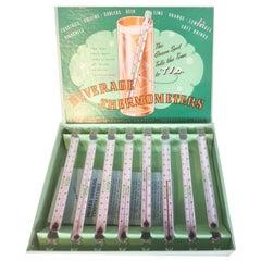 Vintage, Ohio Thermometer Company, Drink Stirrers / Swizzle Sticks