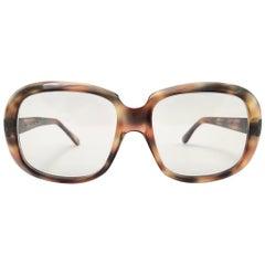 """Vintage Oliver Goldsmith """" KAZ """" Oversized Tortoise Made in England Sunglasses"""