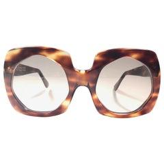 Vintage Oliver Goldsmith Tortoise Oversized 1970 Made in England Sunglasses