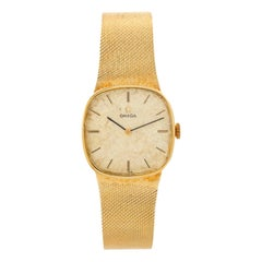 Vintage Omega 14k Yellow Gold Men's Dress Watch