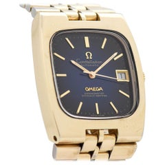 Vintage Omega Constellation 14 Karat Yellow Gold Filled Watch, 1971