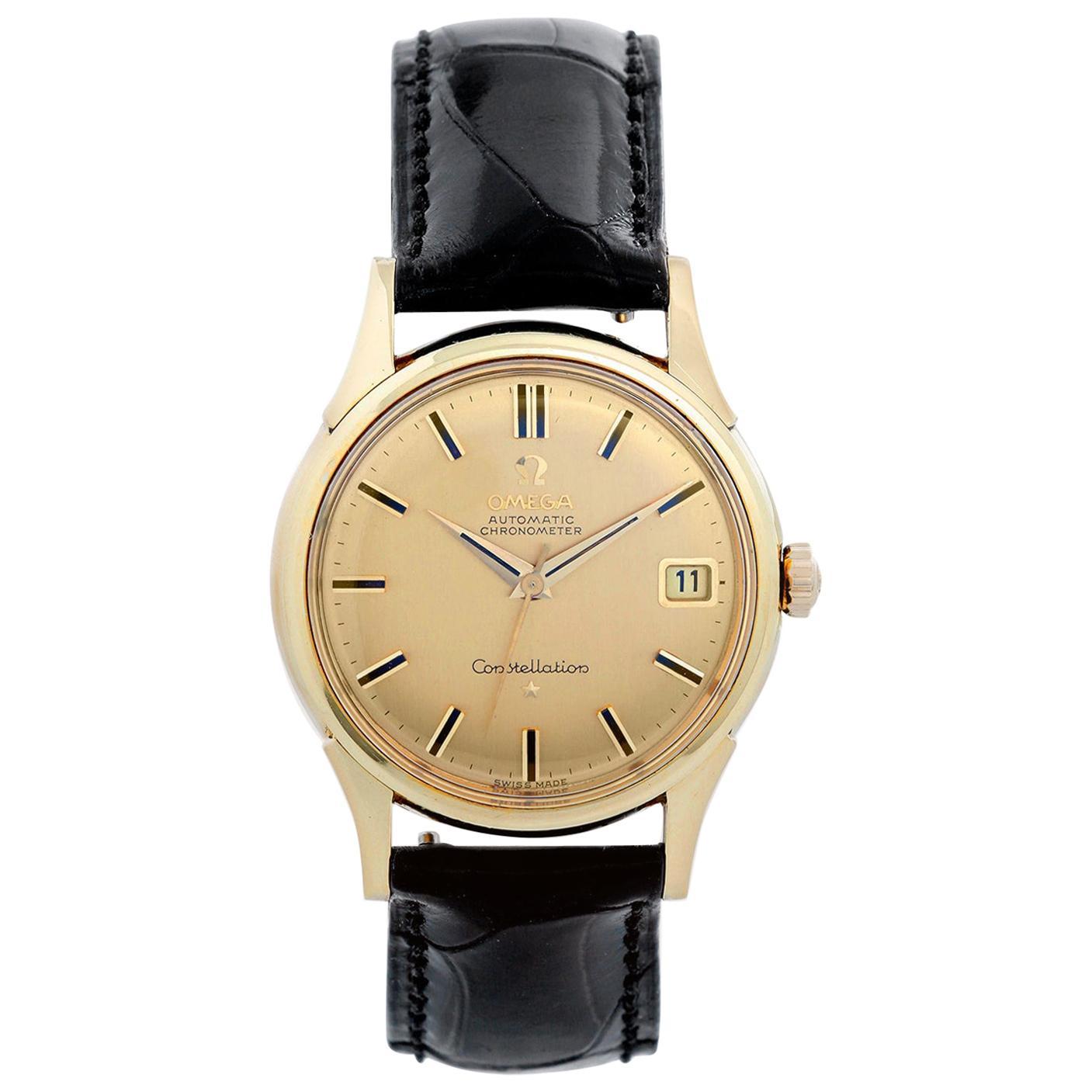 Vintage Omega Constellation Men's Watch