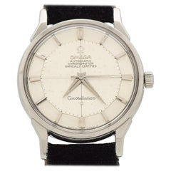 Vintage Omega Constellation Stainless Steel Watch, 1963