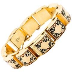 Vintage Omega Gold Bracelet Cover Watch