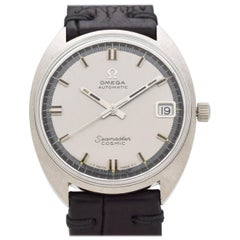 Vintage Omega Seamaster Cosmic Stainless Steel Watch, 1970