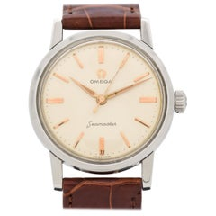 Vintage Omega Seamaster Stainless Steel Watch, 1959
