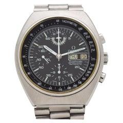 Vintage Omega Speedmaster Automatic Mark 4.5 Stainless Steel Watch, 1978