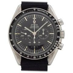 Vintage Omega Speedmaster Pre Moon Stainless Steel Watch, 1968