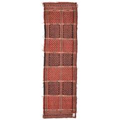 Vintage Oriental Cicim Like Soft Tissue