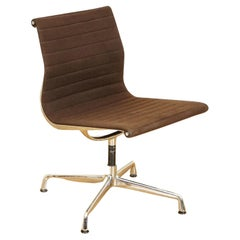 Vintage Original Charles Eames Vitra Aluminium Swivel Chair '938-138'