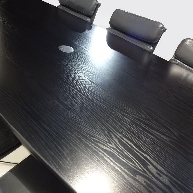 American Vintage Original Eames Boardroom Table and Chair Set by Vitra and Herman Miller For Sale