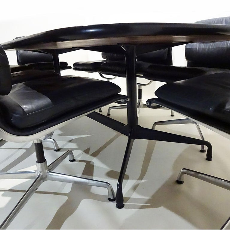 Late 20th Century Vintage Original Eames Boardroom Table and Chair Set by Vitra and Herman Miller For Sale