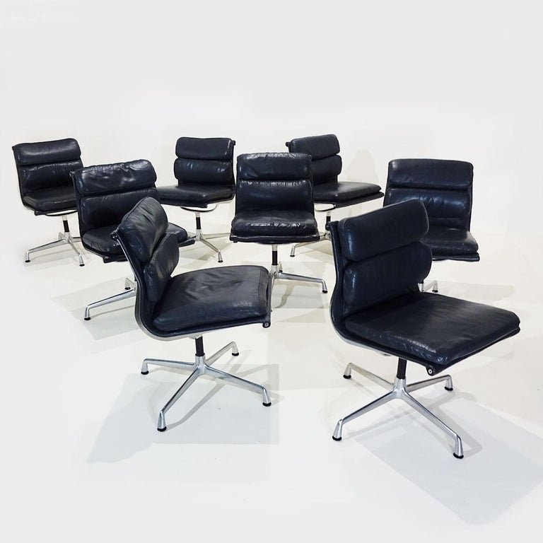 Vintage Original Eames Boardroom Table and Chair Set by Vitra and Herman Miller For Sale 2