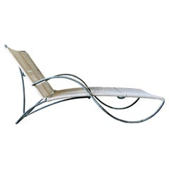 Vintage Original Walter Lamb S Chaise Lounge Chair, Model C-4700 ca. 1955
